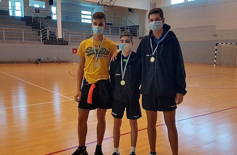 Otok Krk - otok-krk.org, Sport - Stolnotenisači STK Malinska-Dubašnica osvojili 18 medalja na otvorenom turniru PGŽ