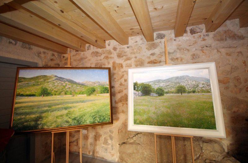 Otok Krk - otok-krk.org, Kultura - Impresije Domagoja Barića izložene u Kući Dubašljanske baštine