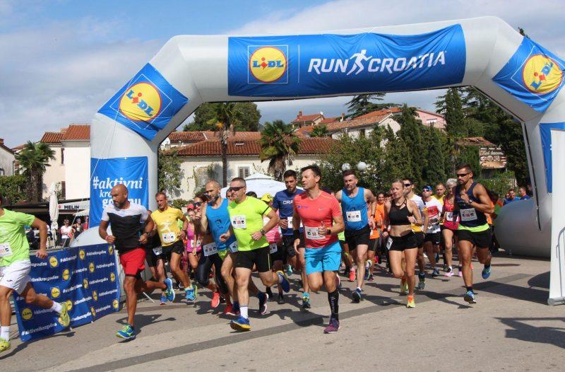 Otok Krk - otok-krk.org, Sport - OdrĹľana utrka Lidl MALINSka Run